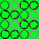 Spinning Around (green) by Denise Abé