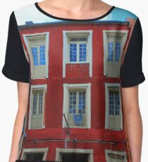 New Orleans Architecture Women's Chiffon Top