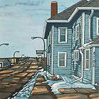 My Hometown by Maxine Wolodko by Maxine Wolodko