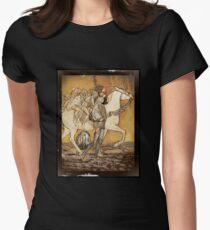 Golden Faeries on Horseback T-Shirt
