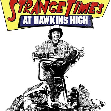 Strange Times At Hawkins High by randyriggs
