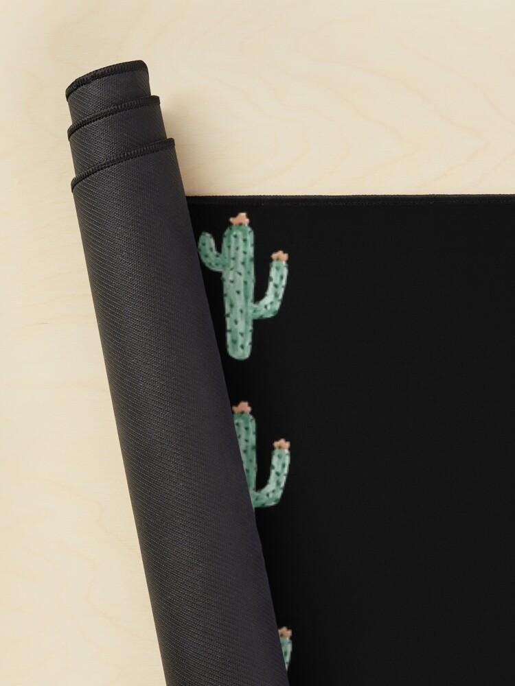 Alternate view of cactus cactus print Classic T-Shirt Mouse Pad