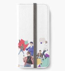 Retero SHINee [[1:1 LINE]] iPhone Wallet/Case/Skin