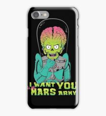 Mars recruitment iPhone Case/Skin