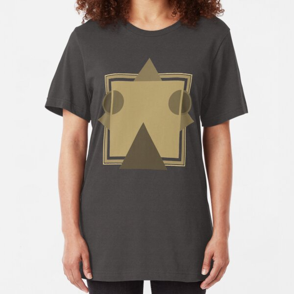 Caravan Palace - Robot Face / <|°_°|> - Album Art Re-Imagined Slim Fit T-Shirt
