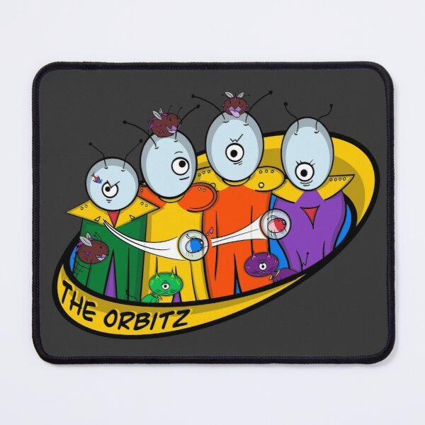 The Family Orbitz: Family Photo Mouse Pad