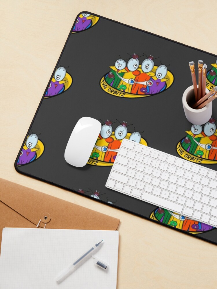 Alternate view of The Family Orbitz: Family Photo Mouse Pad
