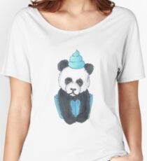 Panda Cupcake Women's Relaxed Fit T-Shirt