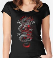 Asian Dragon Women's Fitted Scoop T-Shirt