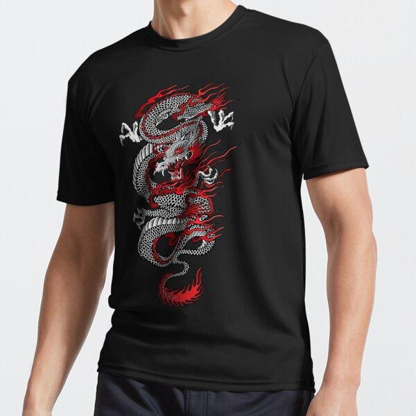 Asian Dragon Active T-Shirt
