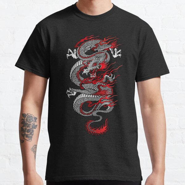 Dragon asiatique T-shirt classique