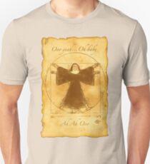 Vitruvian Nun Unisex T-Shirt