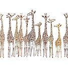 Meeting of the Giraffes - Where's Harvey?  by IconicTee