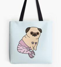Mer Pug Tote Bag