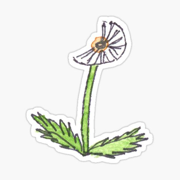 Dandelion Puff Sticker