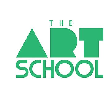 Art School Logo - Sticker by MotionDan