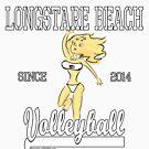 Little Monster Girl Retro Sport Design by lmgcomic