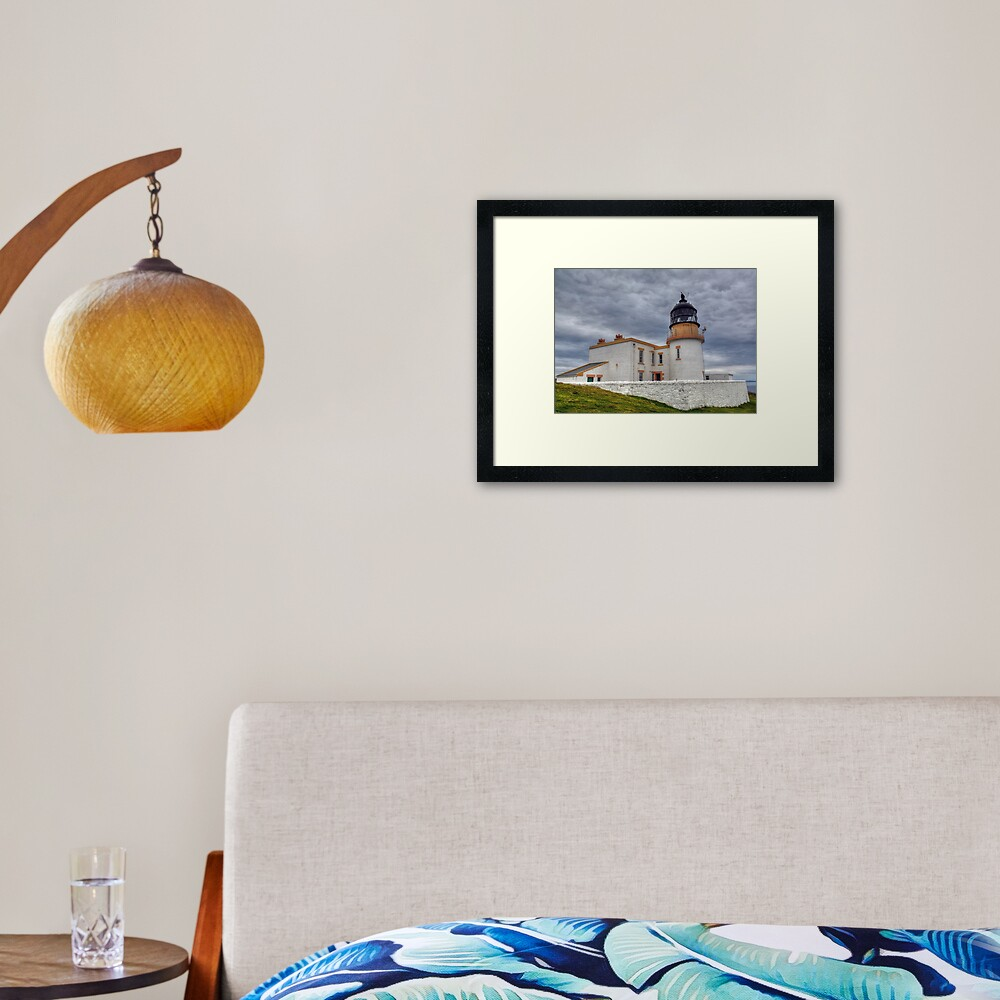 Stoer Head Lighthouse, Sutherland, Scotland Framed Art Print