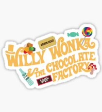 Willy Wonka Sticker
