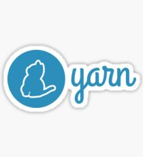 Yarn Logo Sticker