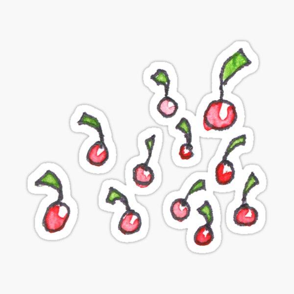 Tiny Cherries Sticker