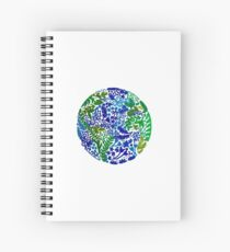 The Earth Laughs in Flowers Spiral Notebook