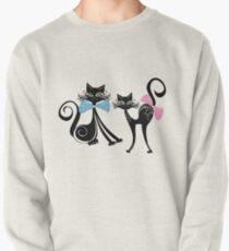 Black Zazzy Cats Pullover