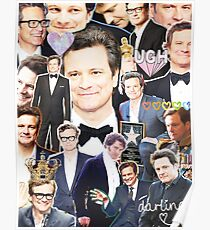 colin firth collage Poster