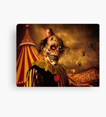 Terrorific Clown Halloween 2016 Canvas Print