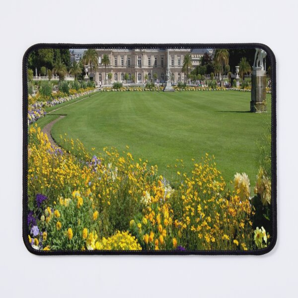 Luxembourg Gardens Paris France Mouse Pad