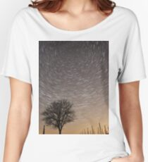 Star trails Women's Relaxed Fit T-Shirt