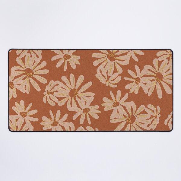 flower design Desk Mat