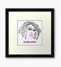 Chad Michaels - I'm Cher, bitch Framed Print