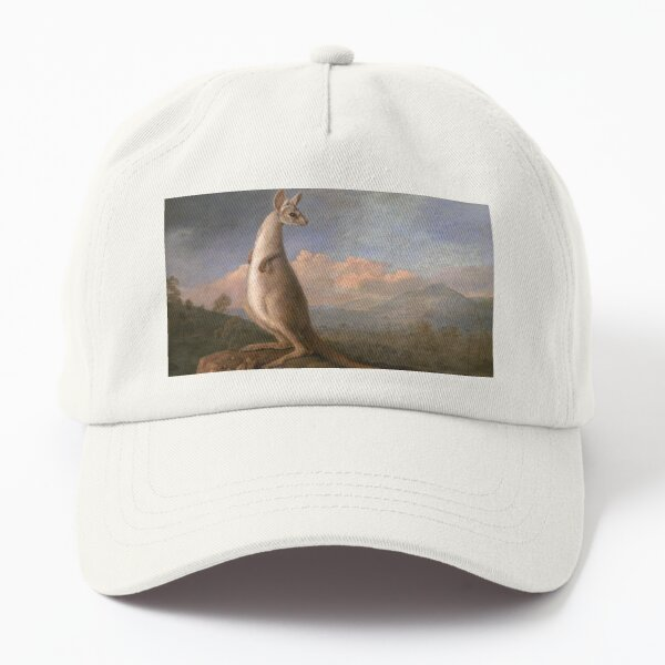 The Kongouro Oil Painting by Australian Artist George Stubbs Dad Hat