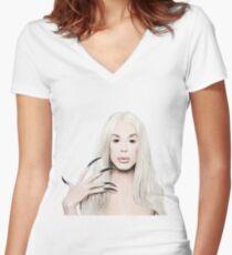 ALASKA THUNDERFUCK - ANUS Women's Fitted V-Neck T-Shirt