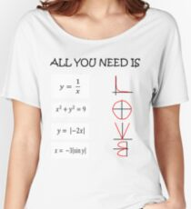 All you need is love - Math  Women's Relaxed Fit T-Shirt