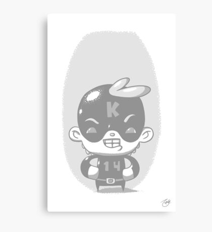 Kaptain 14 Whiteout Edition Canvas Print