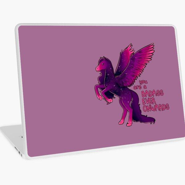 """""""Badass Ever Onwards"""" Pegasus Laptop Skin"""