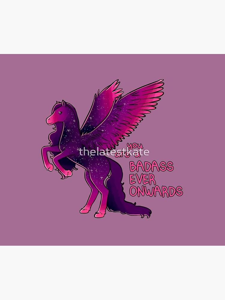 """Badass Ever Onwards"" Pegasus by thelatestkate"