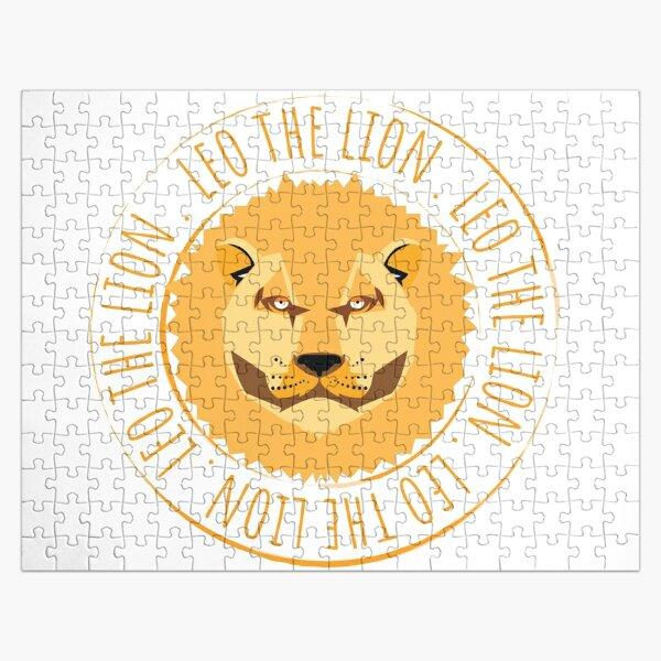 Leo the brownish retro lion  Jigsaw Puzzle