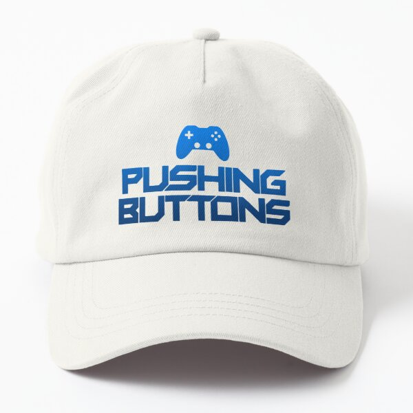 Pushing Buttons Hat Dad Hat