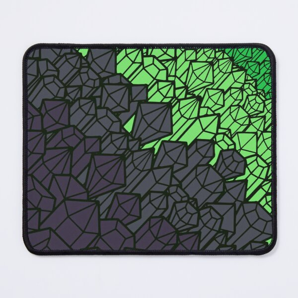 Type 1 Flatline Crystals Mouse Pad