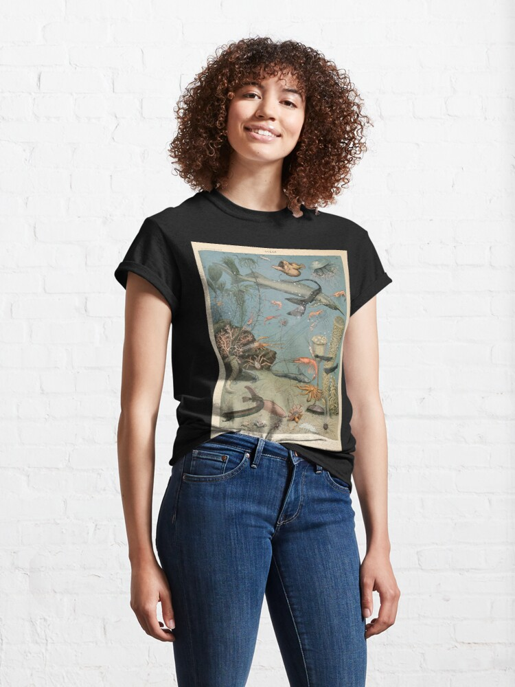 Alternate view of Adolphe Millot ocean A Classic T-Shirt
