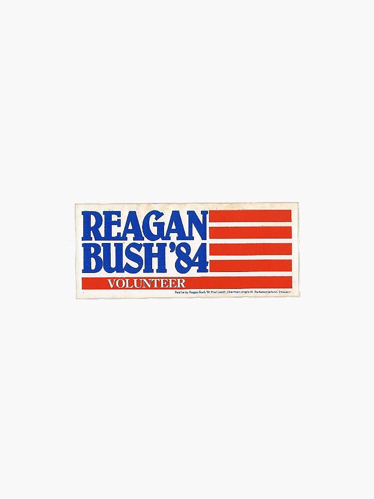 Reagan Bumper Sticker by mackattak06
