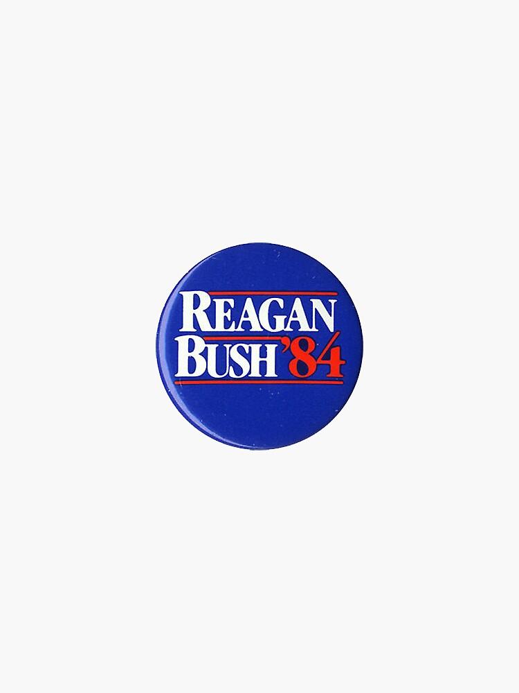 Reagan Campaign Button by mackattak06
