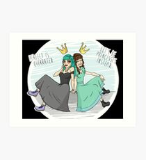 princesses Art Print