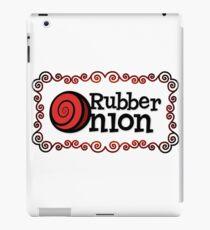 RubberOnion Logotype with Border iPad Case/Skin