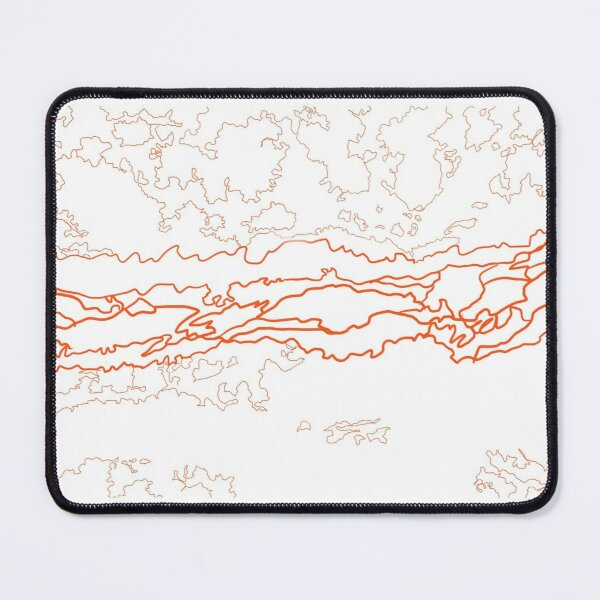 LLFC blue hole simplified  Mouse Pad