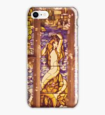 Mermaid Stain Glass Window iPhone Case/Skin