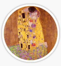 The Kiss - Gustav Klimt - Normal Sticker